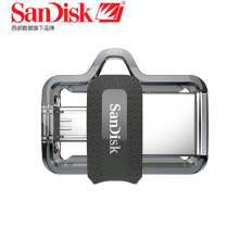 Sandisk Dual OTG USB Flash Drive 64GB 32GB 16GB 128GB SDDD3 Pen Drives Extreme high speed PenDrives 3.0 for Android phone(China)