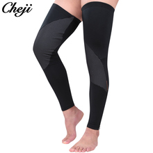 Winter New Cheji Fleece Leg Warmers Men Black Pro Thermal Cycling Leg Warmers Cycling Legwarmers Leg Sleeves Sport Equipmemts(China)