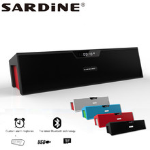 Sardine SDY-019 big power 10W output HIFI portable wireless bluetooth Speaker Support SD card player