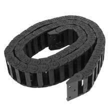 Hot sale100 cm R3.5cm plastic open type wire energy chain drag chain 10mm x 30mm(China)