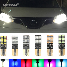 4x T10 194 W5W Car LED Lamp 12 V Auto Lampada Bulb Parking Lights 5W5 Canbus T 10 W2.1x9.5D 4014 24SMD 12V Ampoule Error Free(China)