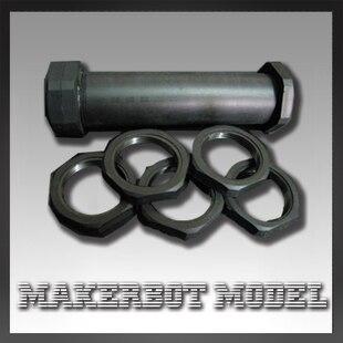 3 D printer support frame set/kit for Wire Spool Holder Bracket nylon 1 pcs Kun shaft 4 pcs M30*15 screw nut top quality<br><br>Aliexpress