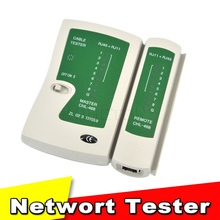 Professional Network Cable Tester RJ45 RJ11 RJ12 CAT5 LAN Cable Tester Networking Wire Telephone Line Detector Tracker Tool kit(China)