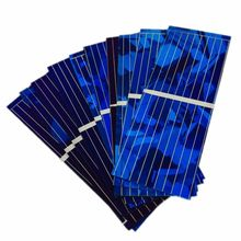 NEW Arrival 100pcs Solar Panel Solars Cell 0.5V 320mA Color Crystal Solars Module DIY Solar Battery Car Charger Power Bank China