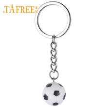 TAFREE Resin Simulation Football/Basketball/ USA Soccer Charms Keychain & Keyring Key Chain Sport Lover Gym Club Gift YY13(China)
