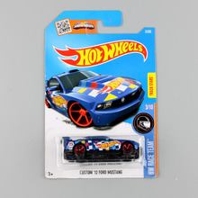 Mini scale Boys hotwheels HW race team ford fiesta night nissan metal diecast cars models toys hot wheels mustang for children