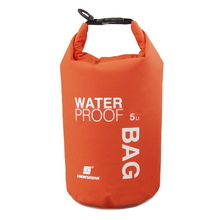 Hot Waterproof Bag Outdoors Bags 5L Large Capacity  Practical Swimming Bag Sack Pouch Canoe Boating Kayaking Camping Hiking