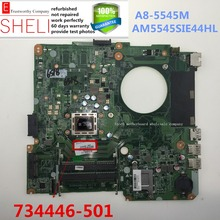 734446-501 for HP TouchSmart 14-n 14-n018us AMD Motherboard DA0U92MB6D0 A8-5545M AM5545SIE44HL SHELI stock No.078(China)