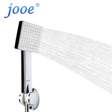 jooe Handheld shower head water saving high pressure Square showerhead chrome Bathroom fixture ducha chuveiros para banheiro