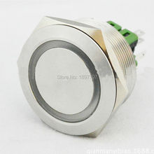 30mm reset momentary 12V Ring LED Anti Vandal Push Button Switch ( white , yellow , blue , green , red , orange )