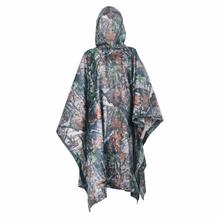 Big SALE Military camo Poncho Ligthweight Outdoor Raincoat Raincover Camping Hiking Fishing Poncho Sent Color Randomly(China)