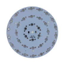 free shipping 10PCS 36W LED Aluminum Plate / High Power LED Circuit Board / Heat Plate Diameter 150mm