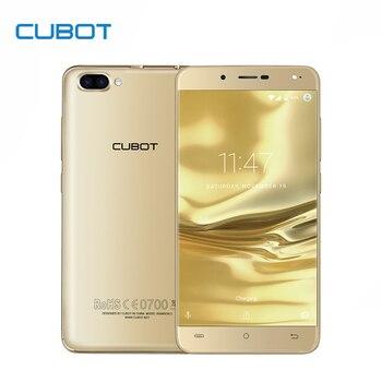 Rainbow 2 5.0 polegada hd mtk6580a cubot quad core de smartphones 1 gb RAM 16 GB Celular ROM Câmeras Dual Android 7.0 Do Telefone Móvel