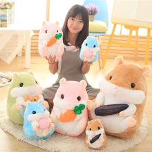 Cute soft hamster plush dolls Japan stuffed toys guinea pigs hamsters dolls for girlfriend birthday present 22cm/32cm