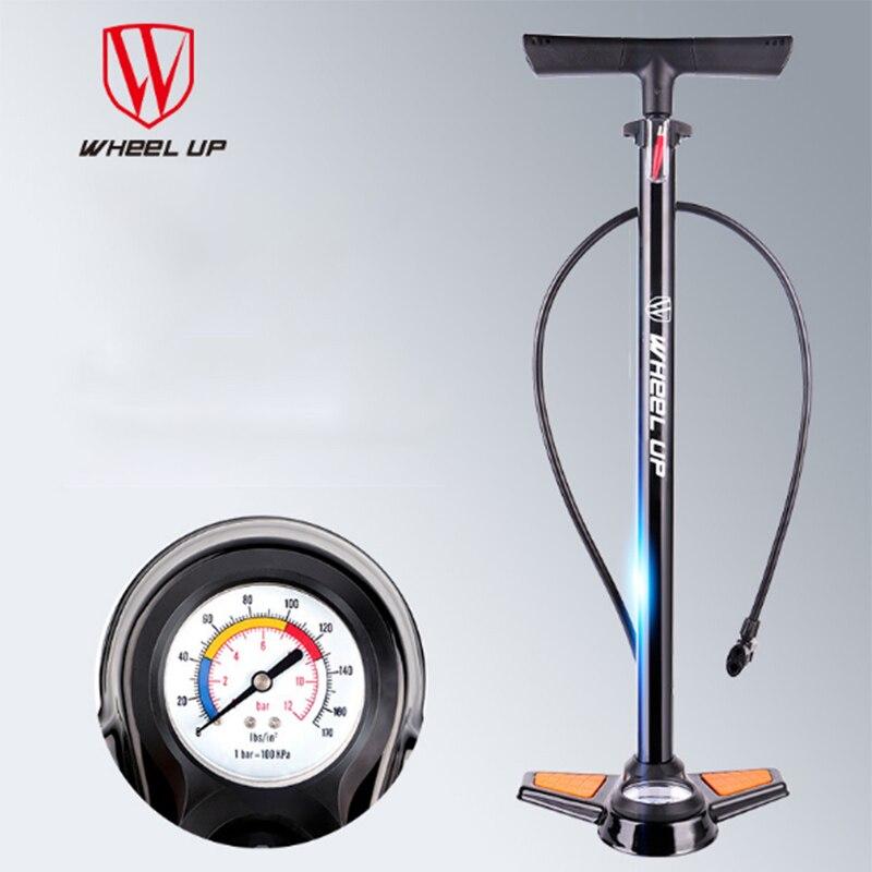 RockBros Bicycle Pumps with 200 Psi Gauge High Pressure Dual Bike Floor Pump