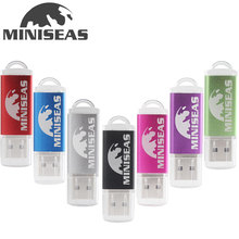 Miniseas USB Flash Drive 4GB 8GB 16GB 32GB 64GB pendrive external storage Pen Drive usb memory stick Flash Drive