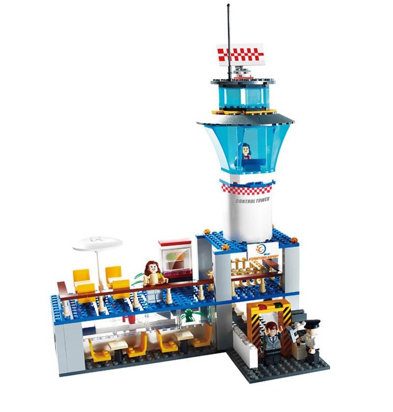 8912-GUDI-652Pcs-City-International-Airport-Model-Building-Blocks-Classic-Enlighten-Figure-Toys-For-Children-Compatible (3)