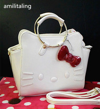 New Hello kitty Handbag with Shoulder Strap Bag Purse yey-14528W