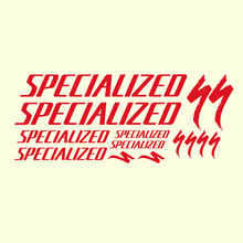 Specialized Bicycle Stickers Specialized Logo Bike Sticker Easy Removable Bike Vinyl Decal(China)