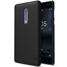 Phone Case For Nokia 5 NILLKIN Super Frosted Shield PC Casing with Screen Protector for Nokia 5 - 5.2 inch