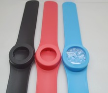 5pcs/lot 3000-3500ions scalar chi bracelet bio disc chi bracelet energy silicone band black silicone band red band