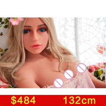 real silicone sex dolls robot japanese anime oral love doll realistic toys for men big breast sexy 132cm vagina adult life full