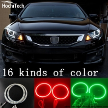 for Honda Accord coupe super brightness colorshift RGB angel eyes halo ring car styling accessories 2008 2009 2010 2011