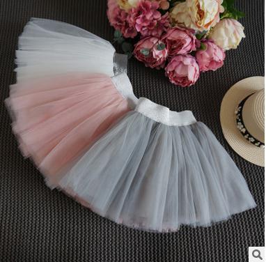 2017 Girls summer sweet pure color tutu skirts , girl skirt tutu , tutu skirt for girls , 5pcs/lot  ZGP03<br><br>Aliexpress