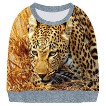 boy and girl  clothing Funny Golden leopard  long Sleeve T Shirt Tees Clothes kids and baby Children t shirt Delicate 2017 Style