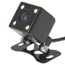 Auto Parking Assistance Camera Waterproof DVD Monitor Rear View Cam Wide Angle Car GPS Back Reverse Night Vision Cam LED Light(China)