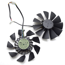 95MM T129215SU FD9015U12S Cooler ASUS GTX 780 970 980 GTX780 Ti R9 280 290 280X 290X Graphics Video Card Fan Cooling - YTTL Optical Pick-up store
