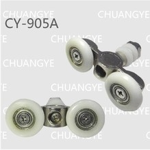 shower door rollers   OD:27MM  CY-905A  color white