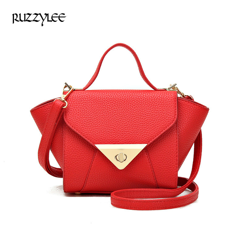 Ruzzylee 2017 New Fashion Women Brand Designer Shoulder Bags Trapeze Luxury Tote Women Leather Handbag Cossbody bags for Women <br><br>Aliexpress