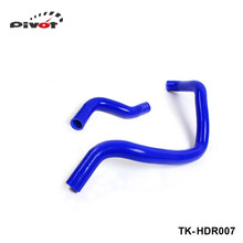 PIVOT-turbo intercooler radiator pipping silicone hose Kit 2pcs For Honda Accord F20 94-97 (2pcs) TK-HDR007