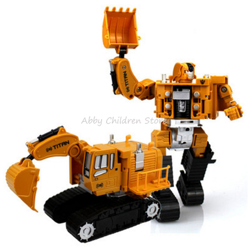 Engineering Transformation Robot Car Deformation Toy 2 in 1 Metal Alloy Construction Vehicle Truck Assembly Robot Kid Toys Gifts<br><br>Aliexpress