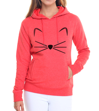 Casual fleece loose fit hoodies female fashion kawaii KITTY KITTEN pink tracksuits Women harajuku pullovers brand clothing 2017