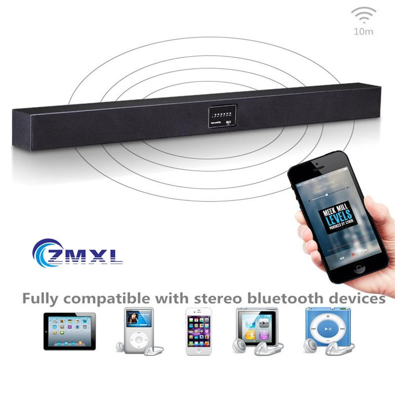 Living Room Echo Wall Audio Wireless Bluetooth LCD TV Hanging Home Theater Speaker Surround Sound 3D