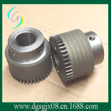 wire-pressing pulley wire feeding machine gear with plastic pulley(China)
