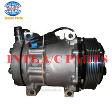 for Sanden 7H15 7S15 709 SD709 SD7H15 auto ac compressor for Mack/Peterbilt/Kenworth/Ford/Sterling/volvo trucks 6pk 12v(China)
