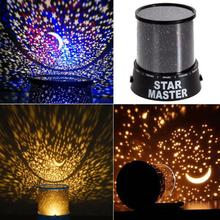 5pcs Room Novelty Night Light Projector Lamp 2 Modes Starry Star Sky Cosmos Master Kids Children Baby Bedroom Sleeping Lights