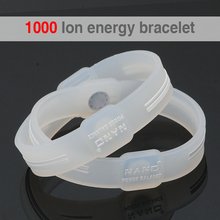 Power Energy Hologram Transparent Bracelets Wristbands Balance Ion Magnetic Therapy Fashion Silicone Bands Bracelets&Bangles Men