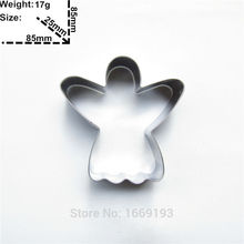 Truth,goodness and beauty Cake Cookie Biscuit Baking Mold,Third Angels Shape Cake Decorating Fondant Cutters Tool,Direct Selling