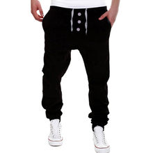 CHAMSGEND pantalones para hombre Pantalones de chándal pantalones Harem  Pantalones Casual Jogger Dance Sportwear pantalones holgados · 3 colores  disponibles 7729958e1fe