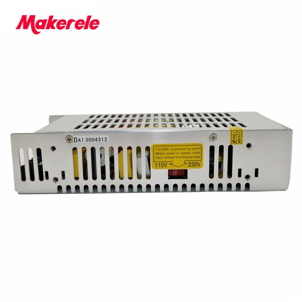 single output metal case 7.5v ac dc switching model power supplies 200w CE approved safe standards capable S-201-7.5 26.5A 201W<br>