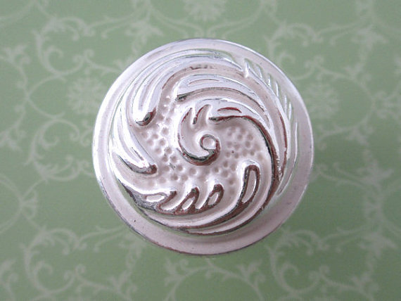 Shabby Chic Cabinet Knobs Pulls Handles White Silver Decorative Furniture Knob Pull Handle<br><br>Aliexpress