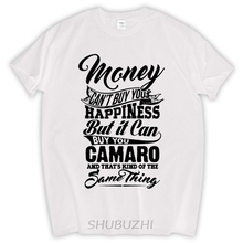 Short Sleeve Custom Money Can't Buy You Happiness But It Can Buy U A Mustang T Shirt Men Printing men tee shirt Team T-shirts