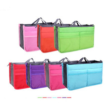 Women Beauty Makeup Cosmetic Storage Bags Double Zipper Case Handbag Travel Organizer For Cosmetics Ipad