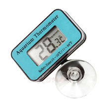 LCD Digital Fish Tank Aquarium Temperature Thermometer Water weather station(China)