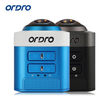 Ordro Brand 360 Degree Full View Mini Camcorder D5 1080p FHD Portable Digital Video Camera WIFI Loop Video Recording HDMI Output(China)