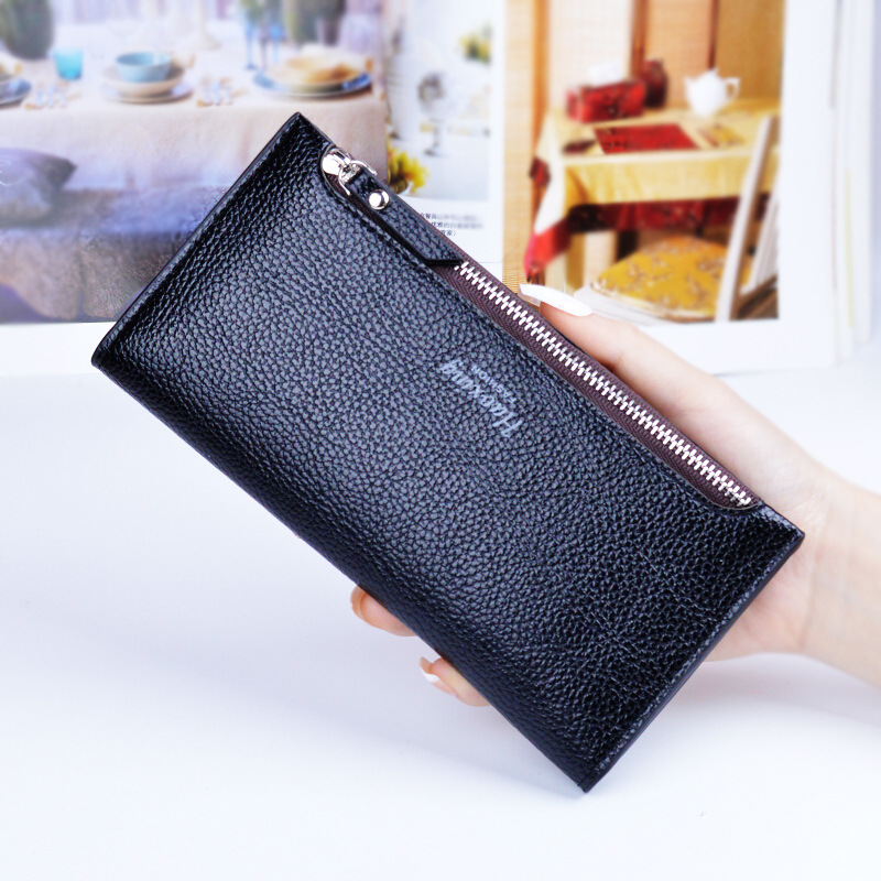 2017 New Arrival Women Wallets Genuine Leather High Quality Long Design Clutch Cowhide Wallet High Quality Fashion Female Purse<br><br>Aliexpress